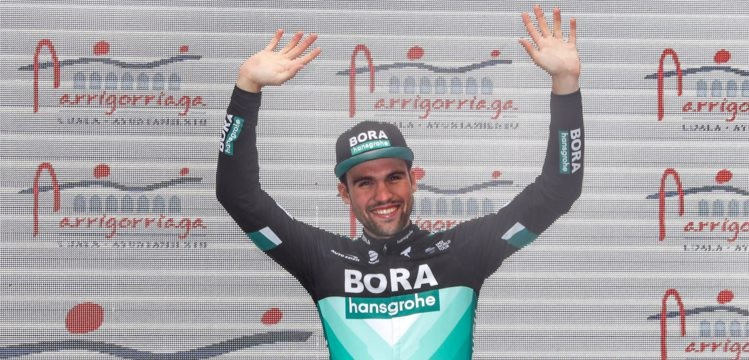Hattrick for Max Schachmann at Tour of the Basque Country