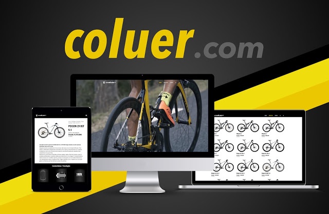 Coluer Bicycles' New Website
