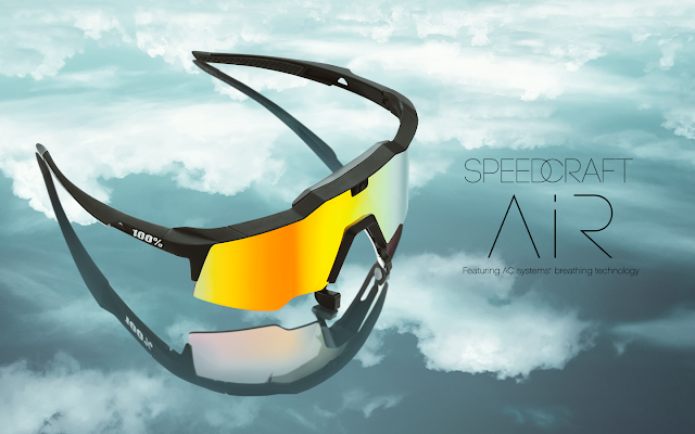 Introducing the Speedcraft Air Sunglasses from 100%