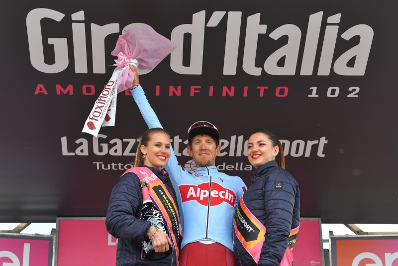 Giro d'Italia. Ilnur Zakarin Climbs to Stage Win and 3rd Place Overall