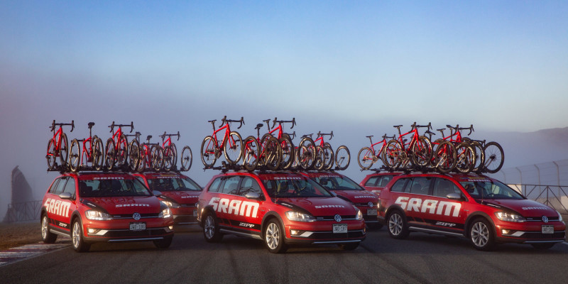 SRAM NRS Partners with Trek for 2019