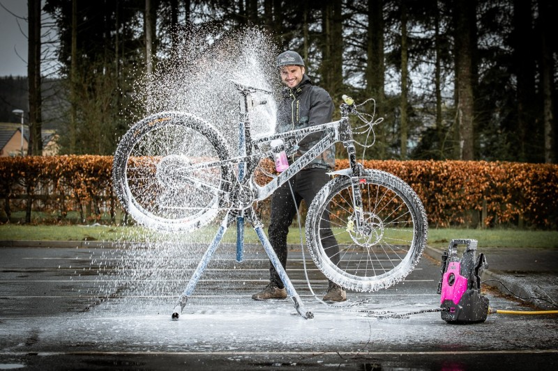 Introducing the World's First Pressure Washer Purely for Bikes