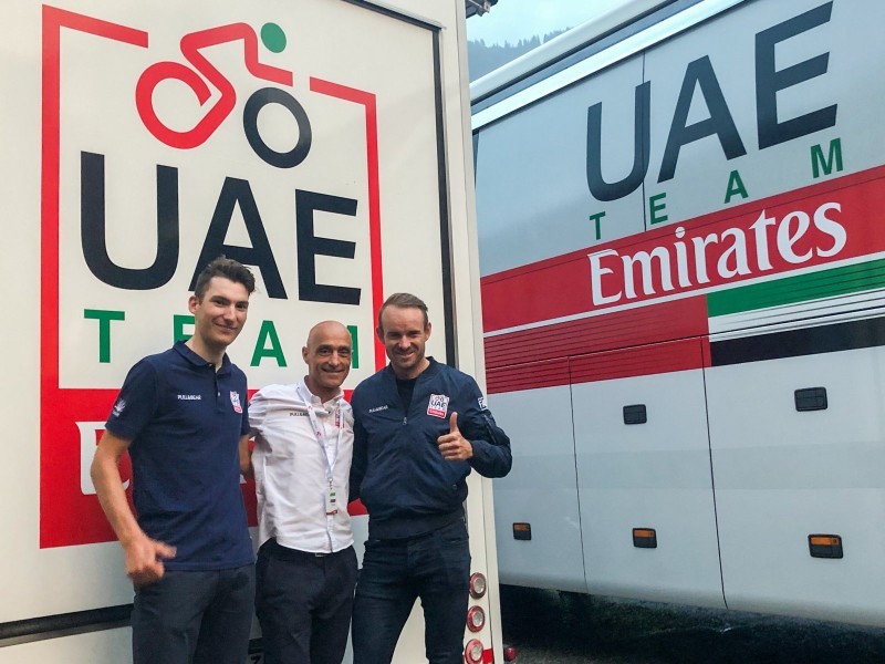 Kristoff and Bystrøm Renew with UAE Team Emirates
