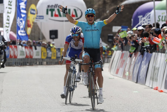 12b85faef Tour of the Alps. Stage 2. Astana takes two in a row as Miguel