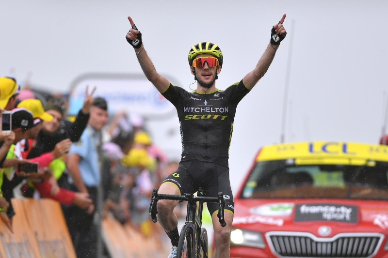 A second Stage Victory for Simon Yates Makes it a Hat-Trick of Wins for MTS at the Tour de France