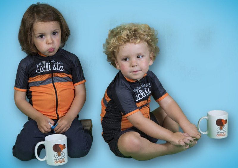 qué grande ser ciclista ® - Launch of a New Children's Collection
