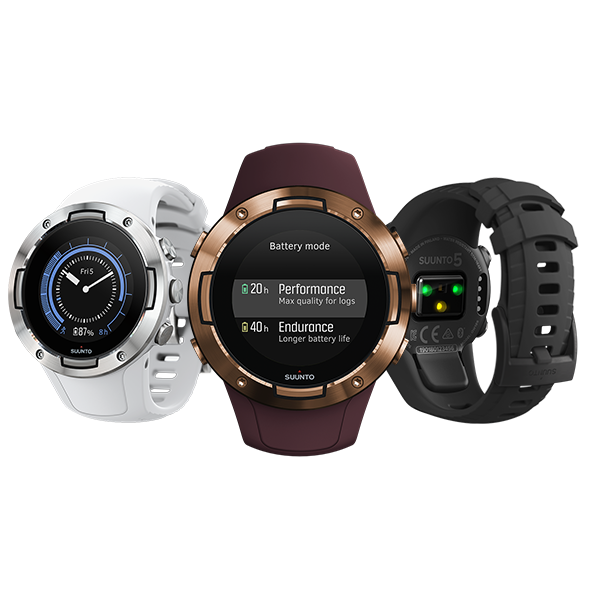 New Compact Suunto 5 GPS Sports Watch Ready For Performance