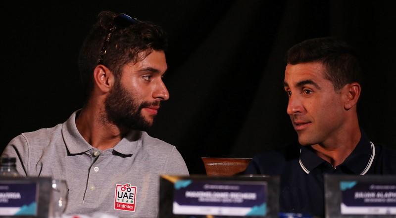Richeze Adds Sprinting Experience for UAE Team Emirates' Fast Riders