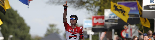 Solo victory for Tim Wellens at Brabantse Pijl