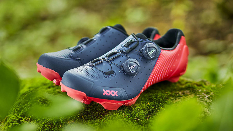 Ruggedly Luxurious. Meet the All-New Bontrager Triple X Mountain Shoe