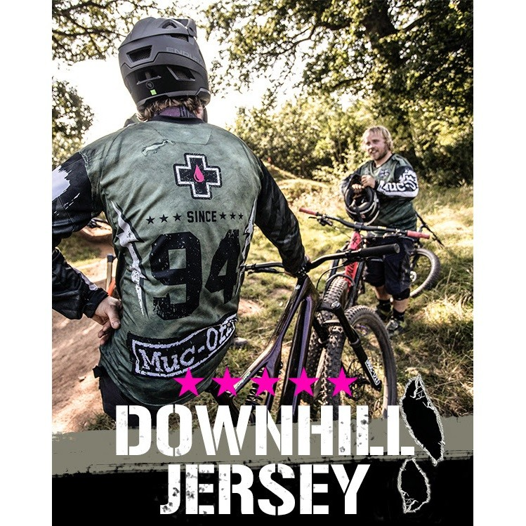 Introducing Muc-Off Downhill Jerseys