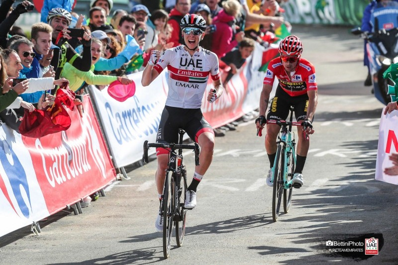 Vuelta: a Pure Class Performance from Pogačar as he Earns his Second Stage Win