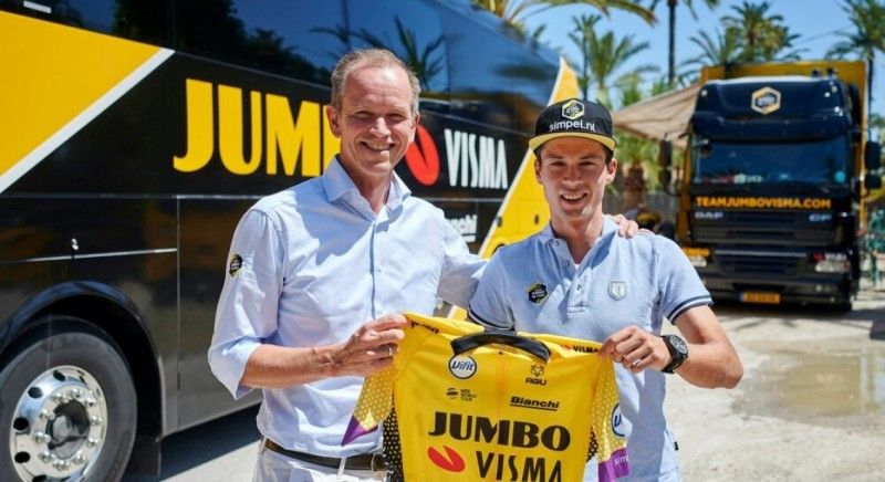 Roglic Continues for the Next Four Years with Team Jumbo-Visma