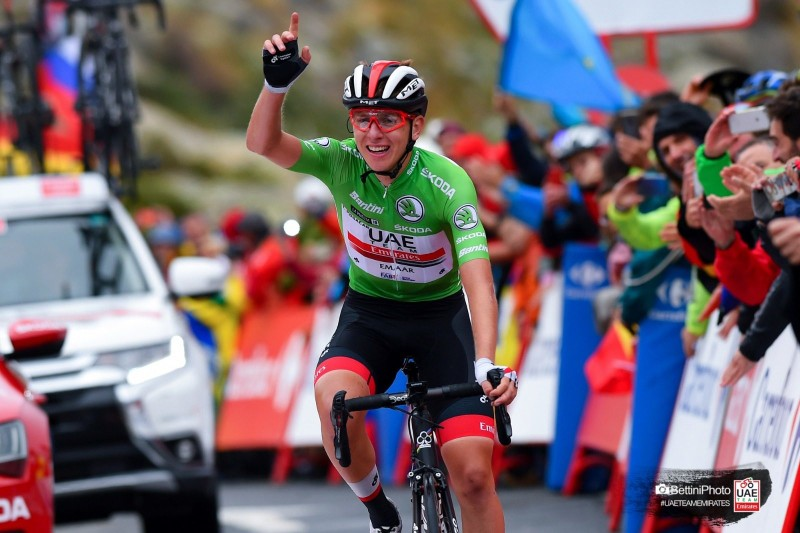 Vuelta: Pogačar Wins his Third Stage and Rides Onto the Podium in the GC