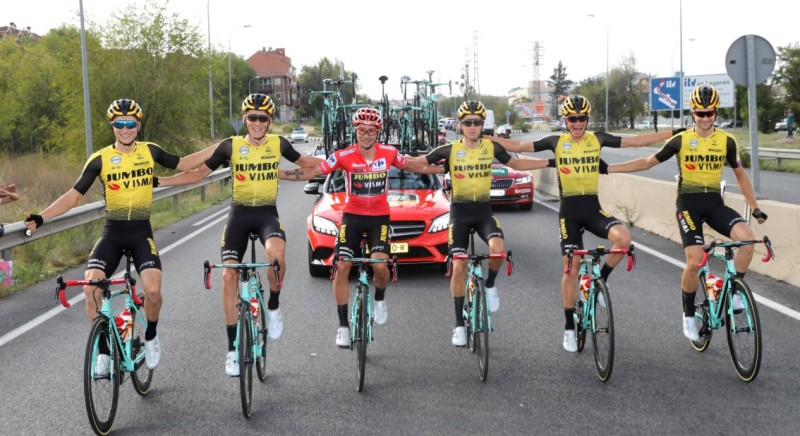 First Grand Tour Win for Team Jumbo-Visma with Roglic's Vuelta a España's Victory