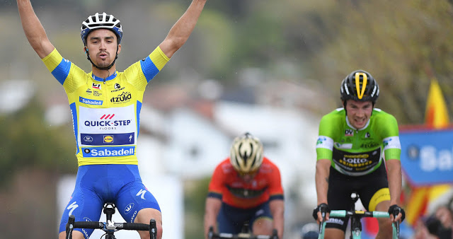 Alaphilippe does it again in Pais Vasco