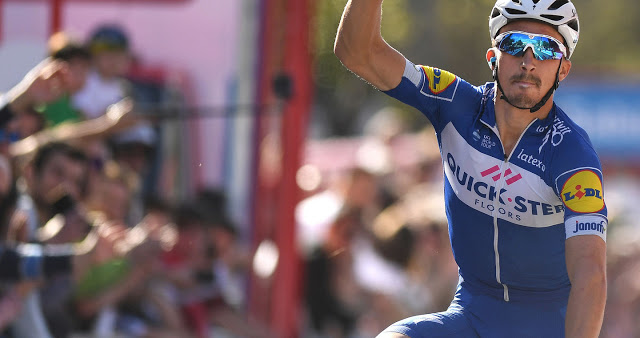 Vuelta al Pais Vasco: A day of double joy for Alaphilippe