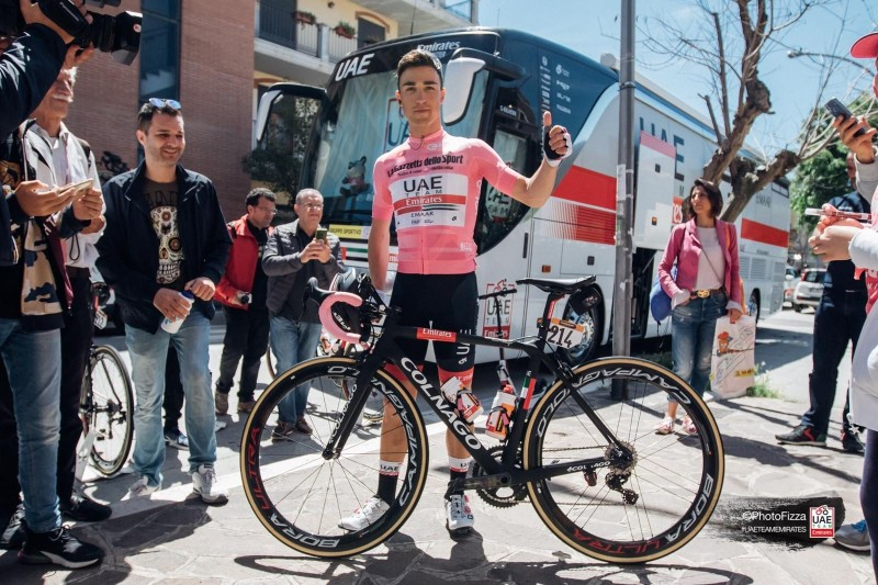 Valerio Conti Stays with UAE Team Emirates for 2020 and 2021