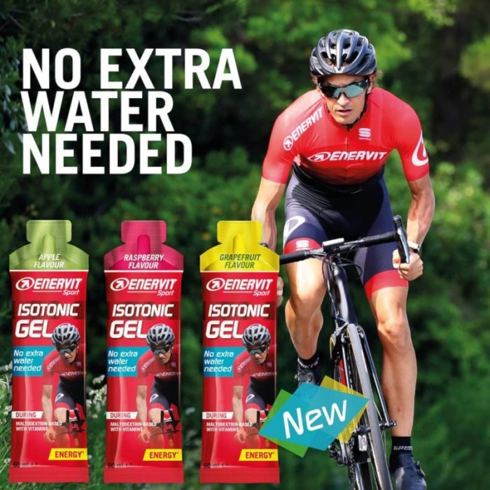 Discover the New Enervit Sport Isotonic Gel