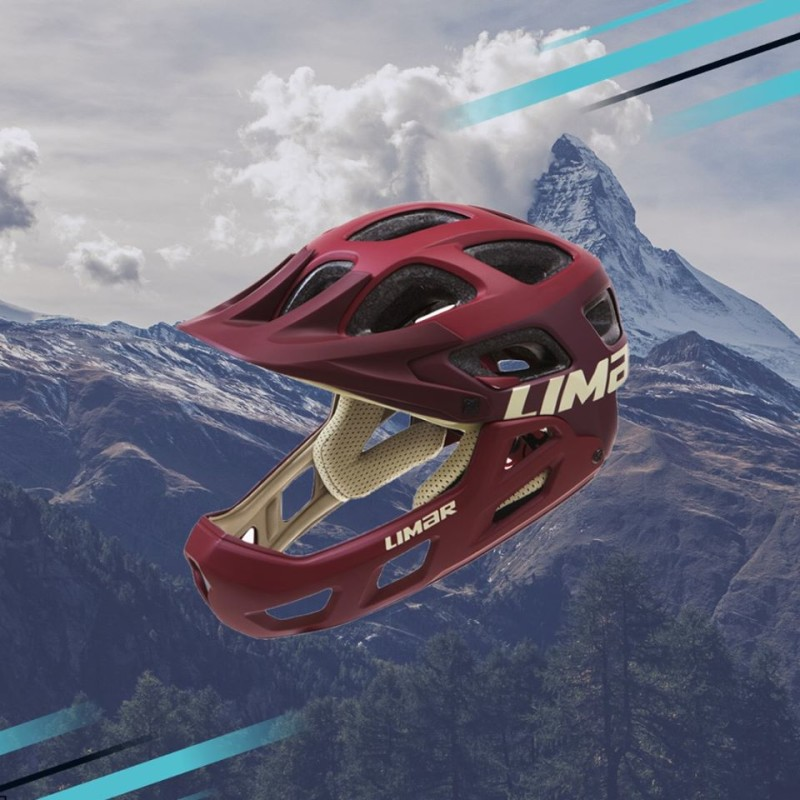 The New Limar Alpe is a Light and Comfortable Enduro Helmet