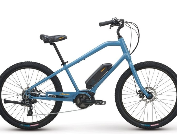 New IZIP Zuma 2.0 eBike with Bosch Active Line Drive System