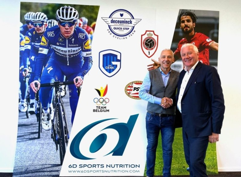 Deceuninck – Quick-Step Extend Highly Successful Partnership with 6d Sports Nutrition