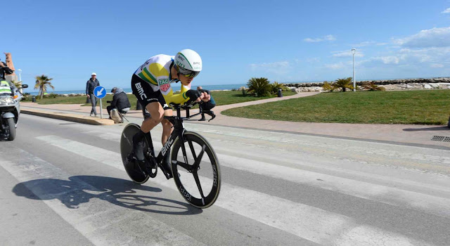 Dennis Wins Closing Time Trial as Caruso Seals Second Overall at Tirreno-Adriatico