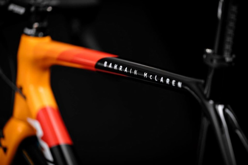 New Year, New Team and New Team Design. Check out the New Team Bahrain McLaren Team Bikes
