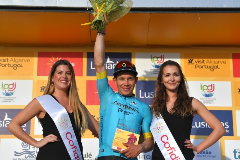Volta ao Algarve. Stage 4. Miguel Angel Lopez Wins Atop Alto do Malhão