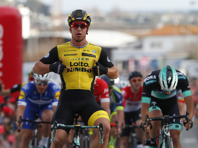 Groenewegen (Team LottoNL–Jumbo) sovereignly to third season win