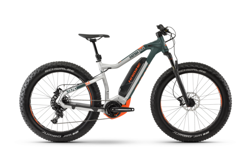 True Nature in Snow, Mud and Sand - 2020 Haibike XDURO FatSix 8.0