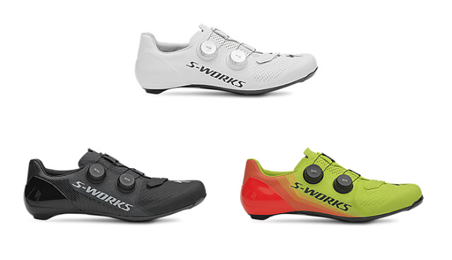 The New Specialized S-Works 7 Road Cycling Shoes