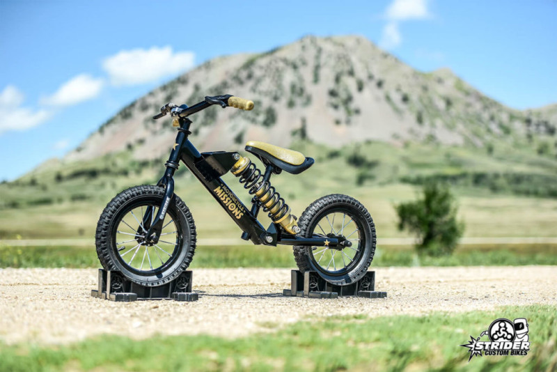 Motorcycle Missions - Tiny Strider Custom Bike Auction