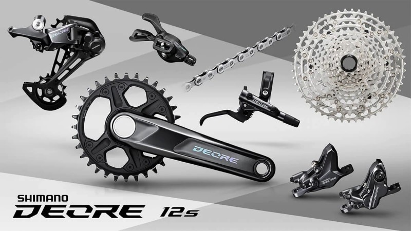 Shimano Launches DEORE as New Member of the 12-Speed Family