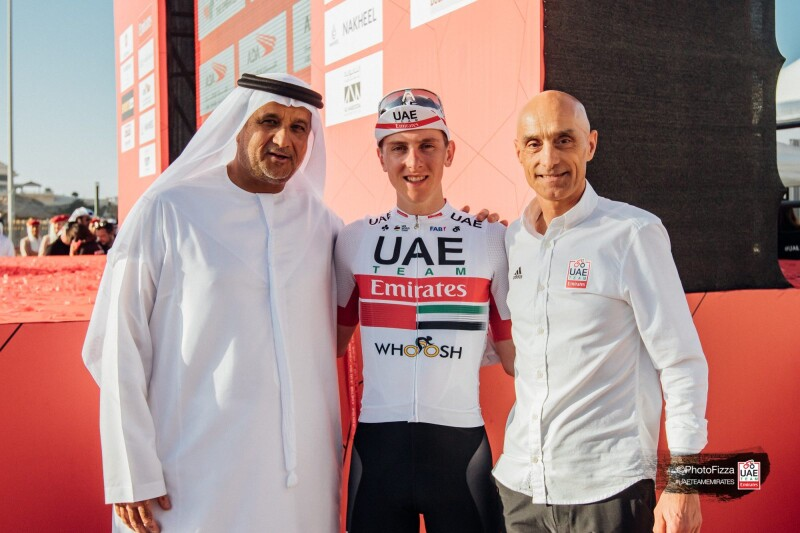 Tadej Pogačar Renews with UAE Team Emirates Until 2024