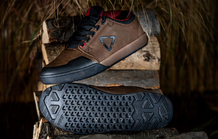 Introducing the Cool, New Aaron Chase Signature Edition Shoe, with Durable Distressed Leather and Leatt 3.0 Technology
