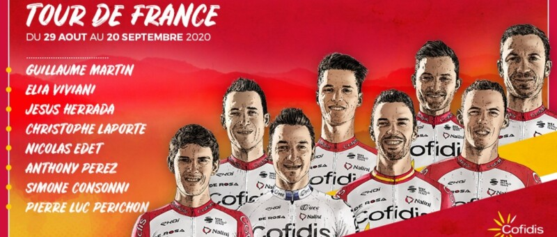 Team Cofidis Reveals its List for the Tour de France