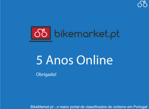 BikeMarket.pt completed 5 Years Online!