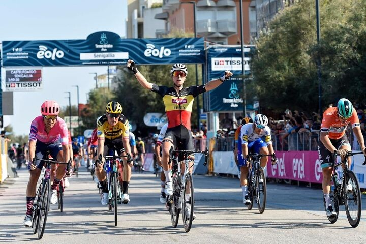 Victory for Tim Merlier in the Sixth Stage of Tirreno-Adriatico