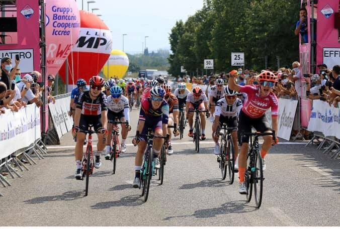 Marianne Vos Sets the Trio at the Giro Rosa