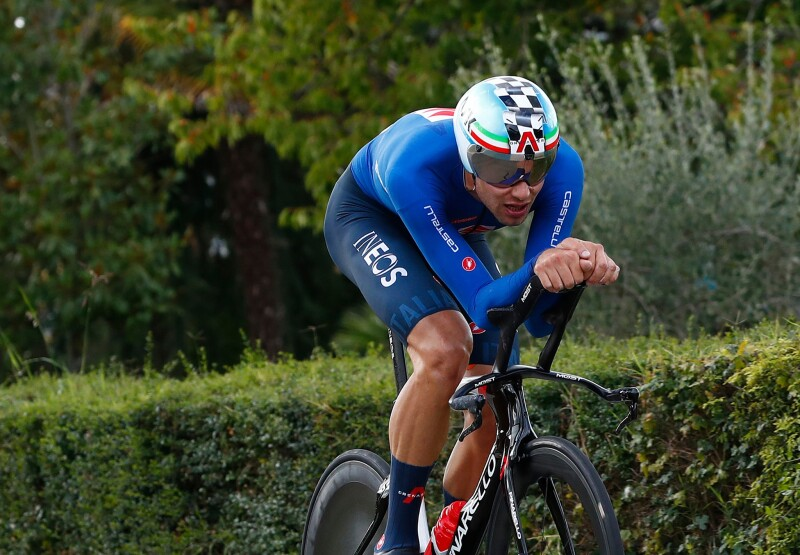 Dominant Ganna Storms to Worlds TT Gold