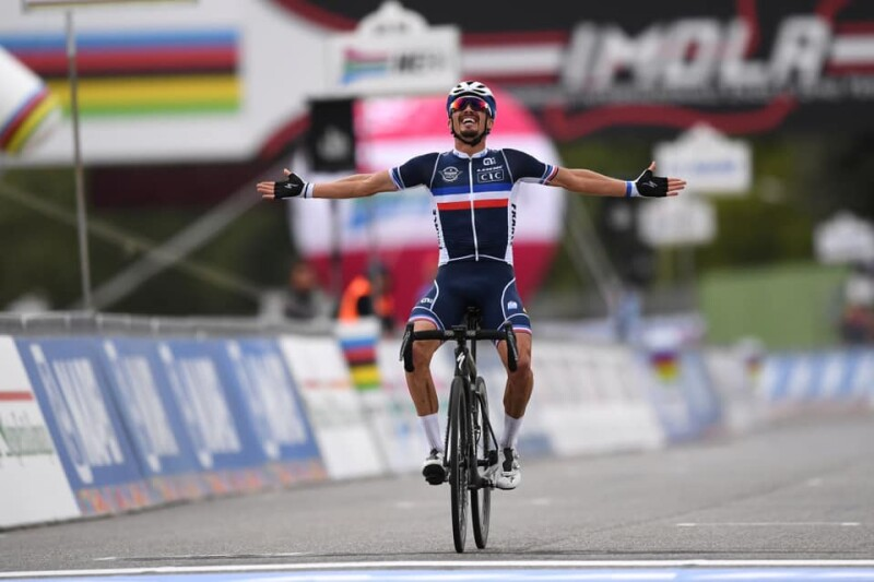 Julian Alaphilippe is the New World Champion