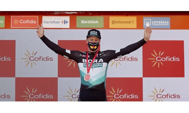 Pascal Ackermann Takes the Win on Stage 9 of the Vuelta a España