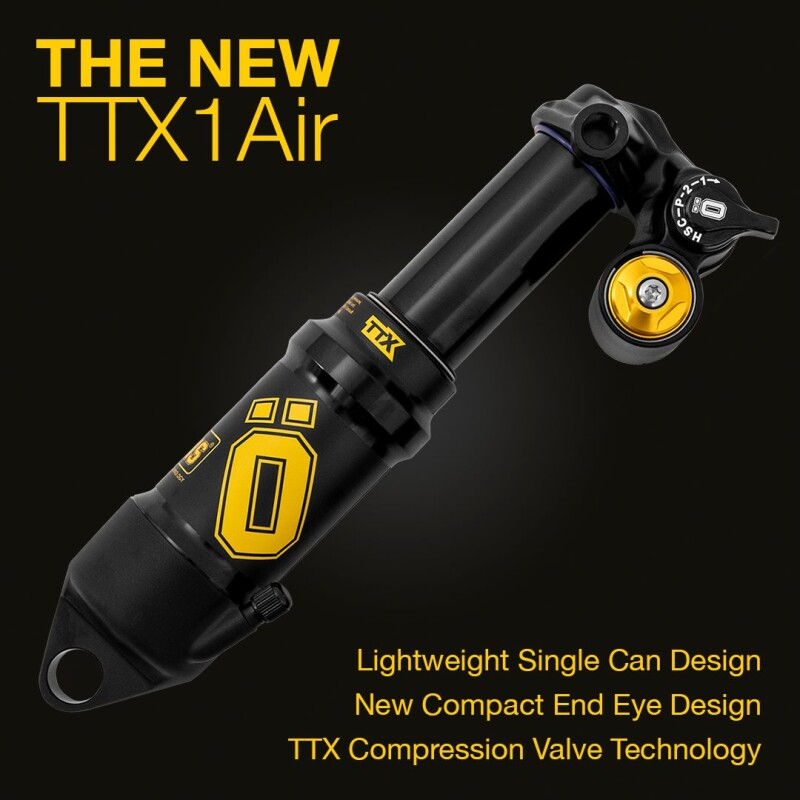 Introducing the New TTX1Air Rear Shock from Öhlins