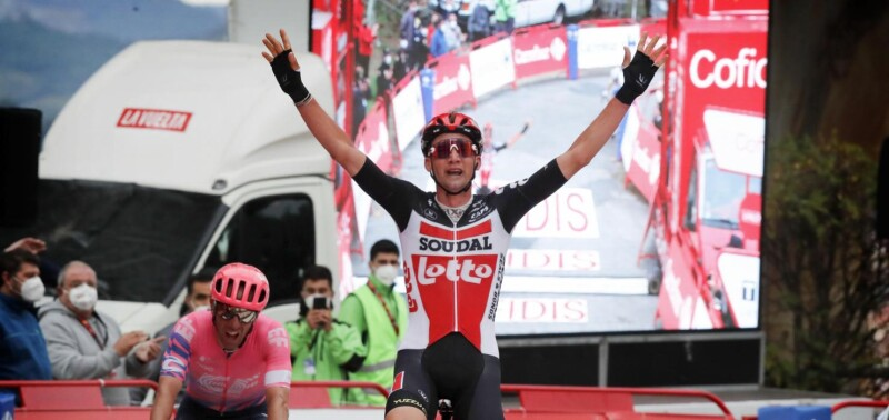 Second Stage Win in Vuelta a España for Tim Wellens