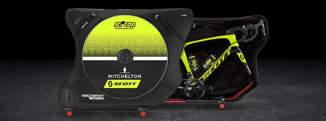 Australian Mitchelton-Scott Teams extend their Trust in Scicon Bags