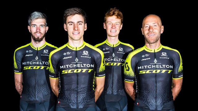 Men's and women's teams to be known as Mitchelton-Scott in 2018