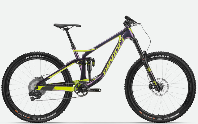 The New 2018 Spartan Enduro Bike from Devinci Cycles
