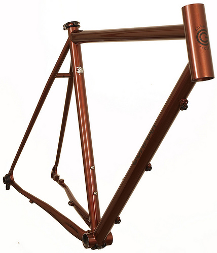 The New Roadie Disc Frame from Gunnar Cycles