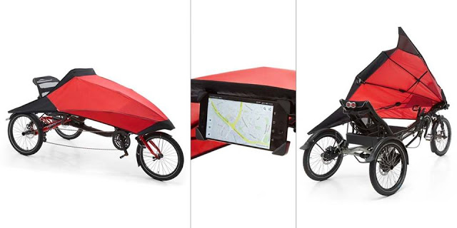 Hase Bikes' New Foldable Fairing Protection for Trikes